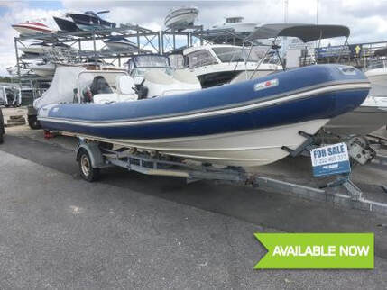 2005 White Shark 205 - used boat for sale from Fine Design Marine Poole, Dorset