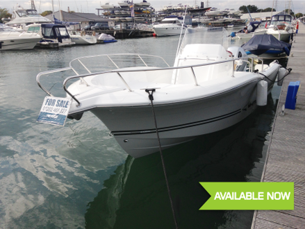2016 White Shark 226 - used boat for sale from Fine Design Marine Poole, Dorset